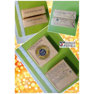 L Occitane Pure Vegetable Verbena Extra Gentle Soap 100 grams