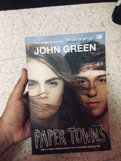 Novel : PAPER TOWNS (John Green)
