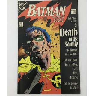Batman No. 428 (A Death in the Family)
