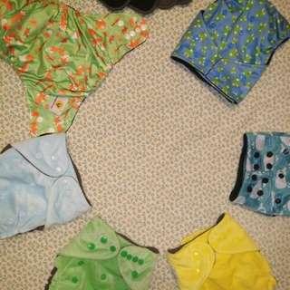 Random Diaper cloth set