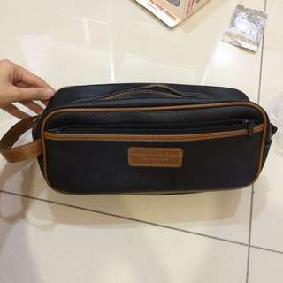 Multipurpose leather bag