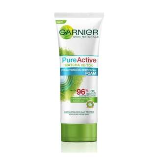 Garnier Facial Wash Matcha Detox Foam (Peoples Choice)