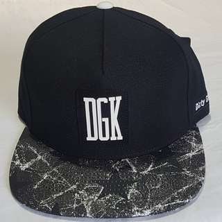 Unfollow DGK Strapback Cap - Black