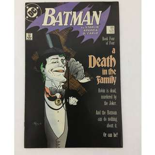 Batman No. 429 (A Death in the Family)