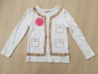 Gap Girl Long sleeves Tshirt