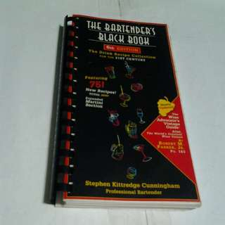 The Bartender's Black Book - 6th Edition