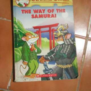 Geronimo Stilton The Way Of The Samurai