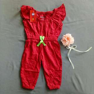 Jumpsuit Red Colour. Rm15