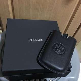 Versace Vertical Travel Black Case
