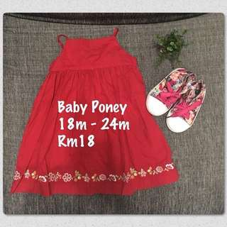 🎀 Baby Poney Dress #Bajet20