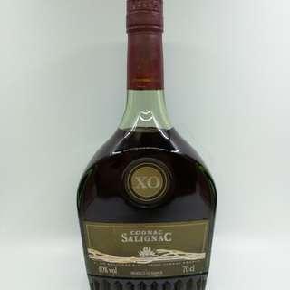 超罕有 80年代 雪裡玉 XO 干邑 Salignac Cognac 700ml (香港行貨)