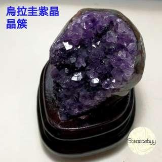 烏拉圭紫晶晶簇 風水擺設