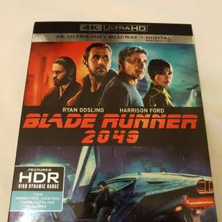 Blade runner 2049 4k UHD + bluray movie