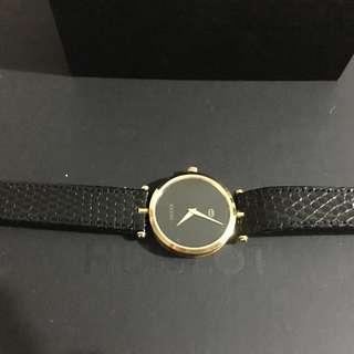 Gucci Watch vintage boy size design 90%new ❌ Hermes Fendi YSL Celine Cartier
