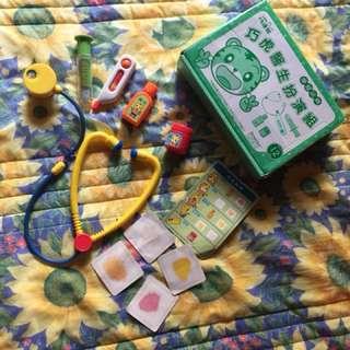 巧連智 醫生遊戲玩具組(恕不議價)