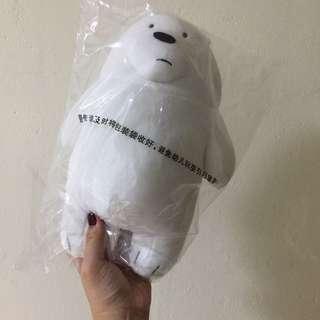 We Bare Bear Ice Bear Plush Toy