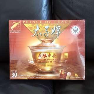 太子牌花旗蔘茶包禮盒