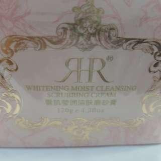 RHR Whitening moist cleansing scrubbing cream