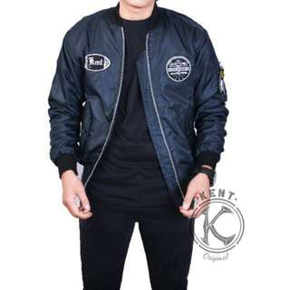 Kent jaket bomber enginering navy