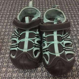 Kids Sandals Teal size 32