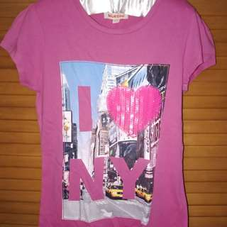 Baju Pink New York