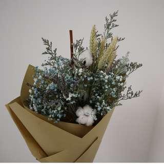 Cotton Ball bouquet