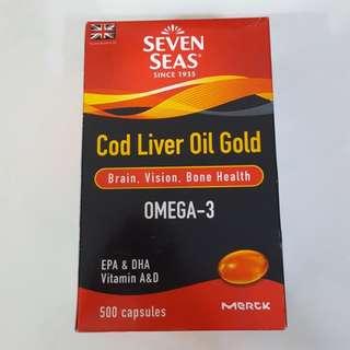 Cod Liver Oil Gold (Omega-3)