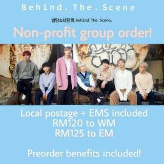 BTS x D-ICON magazine + preorder benefits