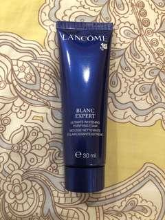 Lancome Blanc expert foam 洗面膏