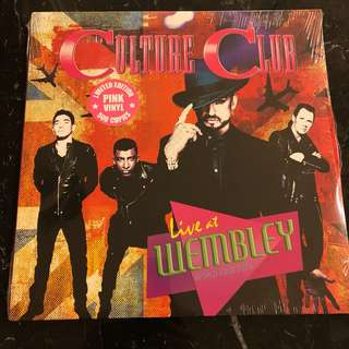 Culture Club - Live At Wembley - World Tour 2016. Vinyl Lp. New