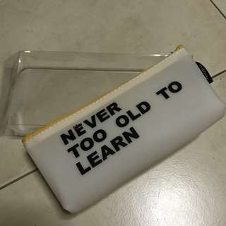 Rubber Pencil Case