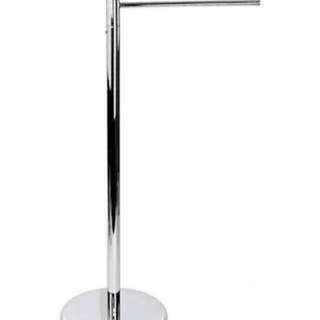 urbana chrome towel rack set