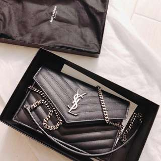 Authentic YSL Saint Laurent WOC envelop brand new