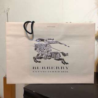 🚚 BURBERRY銀標手提袋