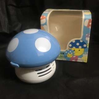 一物二用:全新桌上迷你蘑菇吸塵機