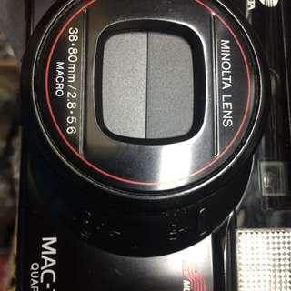 底片 傻瓜相機 Minolta f2.8 5.6 af 大光圈 美品