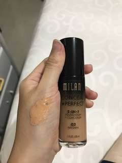 MILANI FOUNDATION AND CONCEALER