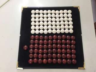 Chess (weiqi. GO) 100%  MORE THAN 40 Years Of Private Collection AUTHENTIC ELEPHANT PURE IVORY.TREASURE OF ASIA.