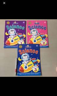 Set of 3 Basic Science Activity Books