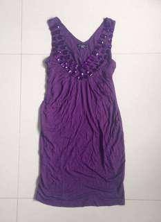 Assorted Violet Dresses