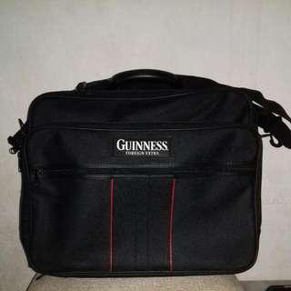 Guinness Travelling Bag On Black