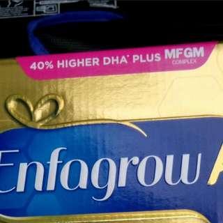 Enfagrow 3 (other enfa also avail)