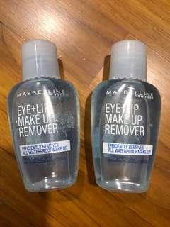 Maybelline Eye+Lip Make up remover