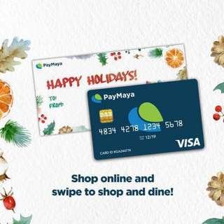 PayMaya Visa