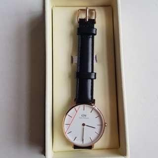 Daniel wellington petite sheffield rosegold