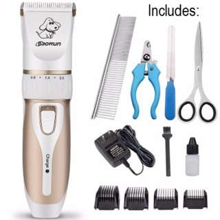 Wireless Pet Shaver Kit - Free additional accessories worth $20!
