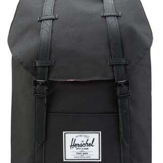 正品 Herschel Retreat Backpack (黑)