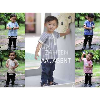 Boys Kurung Top - Preorder by March