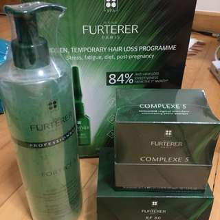 Furterer sudden temp hair loss programme