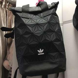 Adidas roll top backpack baobao 款背包